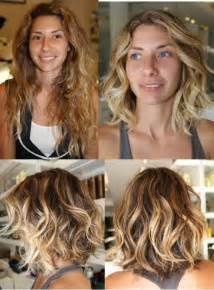 Short Hair Makeovers Before and After
