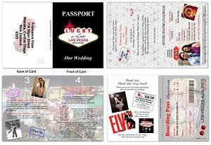 passport 42 viva las vegas custom passport invitations With las vegas passport wedding invitations