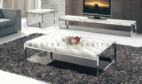 metal living room furniture stainless frame coffee table