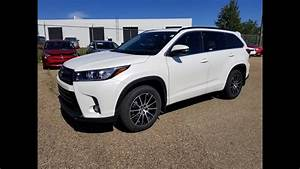 2018 Toyota Highlander Se Awd First Look With Detailed