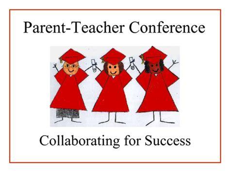parent teacher conferences home