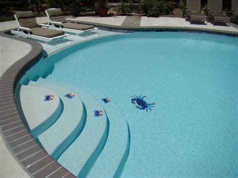 pool mosaic tiles custom pool mosaic tiles from aqua pools in easton maryland