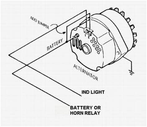 gm 3 wire alternator idiot light hook up rod forum hotrodders bulletin board do it