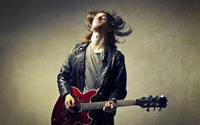 Guitar Playing Hair Wallpapers Background Musician