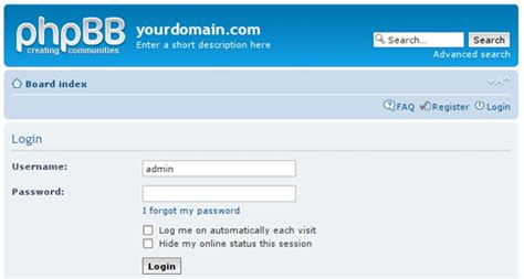 Phpbb Administration Tutorial