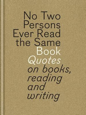 persons  read   book quotes  books