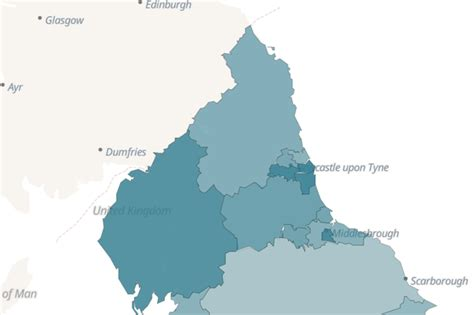Alarming new map shows four English coronavirus hotspots ...