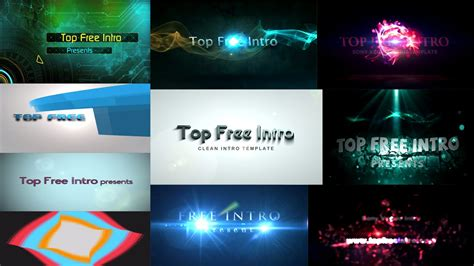 top 10 free intro templates 2016 quot sony vegas intro template quot no plugins