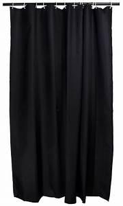 Duschvorhang 180 X 220 : duschvorhang schwarz textil 180 x 200 arinosa ~ Eleganceandgraceweddings.com Haus und Dekorationen