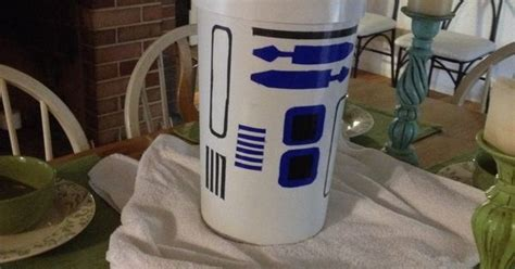 Star Wars Diy R2d2 Trash Can. Awesome