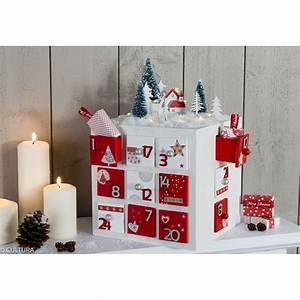Calendrier De L Avent En Bois à Décorer : calendrier de l 39 avent cube avec 24 tiroirs loisirs ~ Zukunftsfamilie.com Idées de Décoration