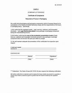 manufacturer certificate format best design sertificate 2017 With letter of conformance template