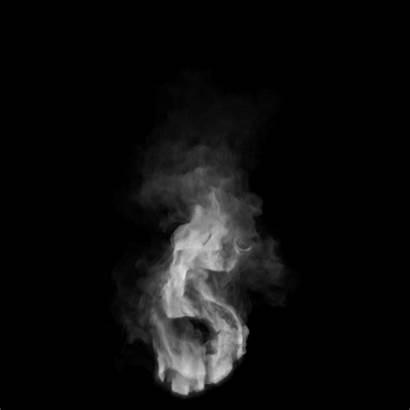 Smoke Animation Letters Font Tags Mockups