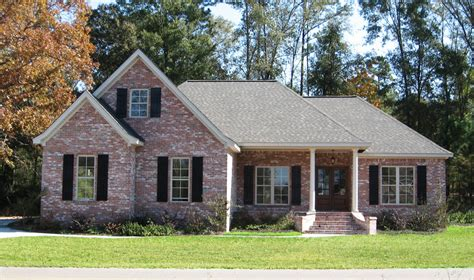 house plan    bdrm  sq ft acadian home theplancollection