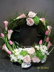 composition de fleurs moderne fashion designs With chambre bébé design avec couronne de fleurs deces