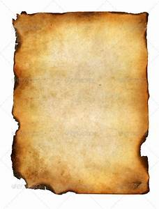 Blank Grunge Burnt Paper With Dark Borders - Stock Photo ...