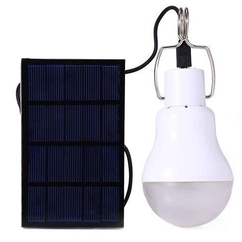 Solar Led Leuchte by Solar L Powered Portable Led Bulb L Solar Energy