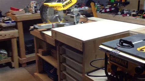 portable workbench table   chop  youtube
