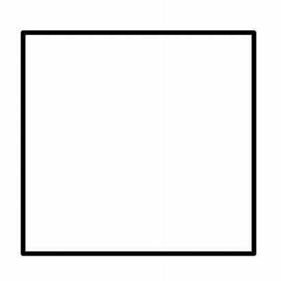 Square Simple Svg Shape Shapes Geometric Sides