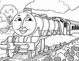 Thomas Tank Coloring Engine Pages sketch template
