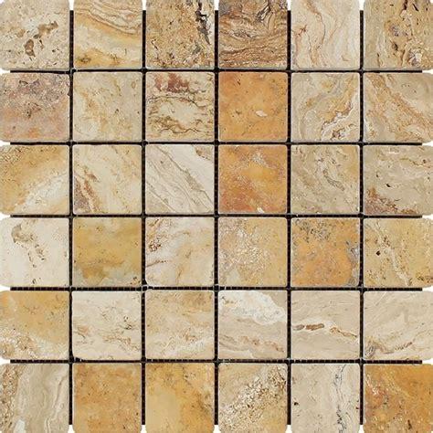 valencia scabos travertine tile travertine valencia mosaic 2x2 tumbled mosaic tiles