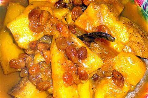 cuisine marocaine facile recette de patate douce a la marocaine de ma mère