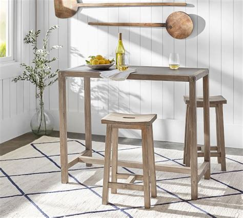Brooklyn Counter Height Table With Stools  Pottery Barn