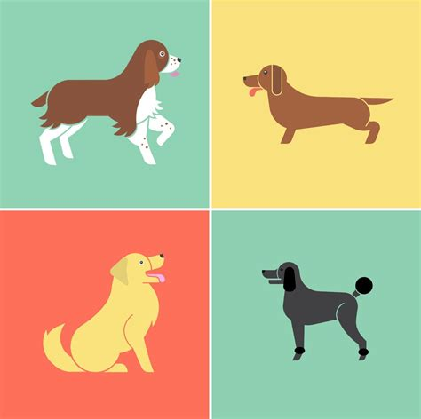 modern dog illustrations  jenny johns dog milk dog