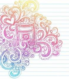 Music Note Doodles