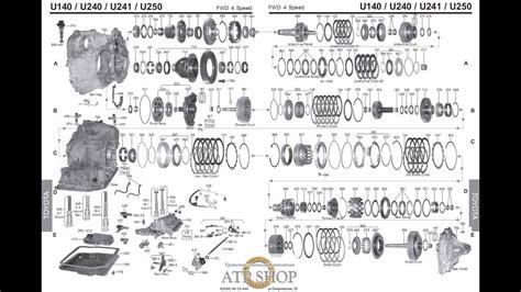hayes car manuals 2000 toyota ipsum transmission control lexus toyota corolla transmission rebuild u140e u140f u142e u151e u151f u240e u241e u250e youtube