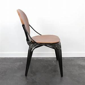 Chaise Bistrot Metal : chaise bistrot metal noir idees de dcoration ~ Teatrodelosmanantiales.com Idées de Décoration
