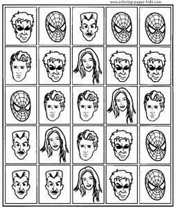 Spider-Man Printable Coloring Pages