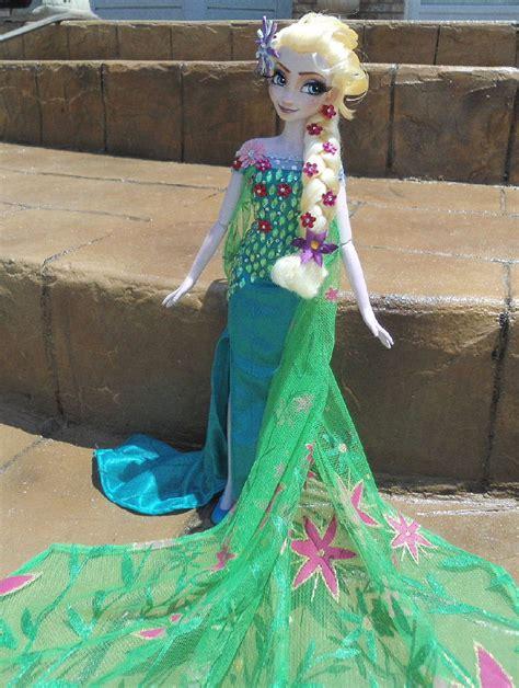 queen elsa summer birthday  singing doll