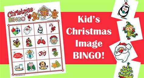 Christmas Image Bingo For Kids