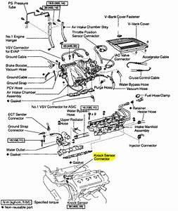 1999 Lexus Rx 300 2wd  Knock Sensor Sub Harness  Where
