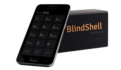 cell phone for blind blind shell a cell phone for visually impaired