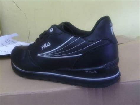 Sepatu Fila Sneakers Ray Heritage Leather Putih Strip Kuning-birdong Semi Premium