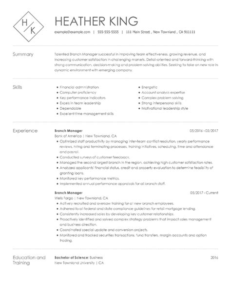 resume sles for every job title industry resume now