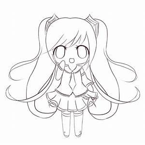 Cute Chibi Printable Coloring Sheets | Coloringpages4kidz.com