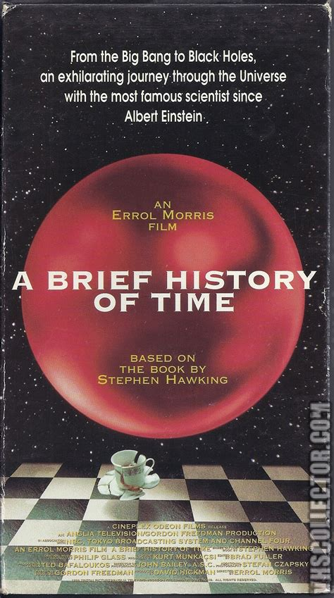 A Brief History Of Time  Vhscollectorcom  Your Analog