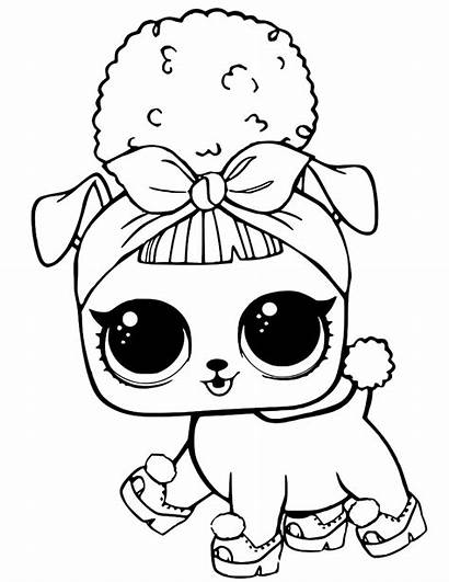 Lol Coloring Pages Dolls Pets Printables