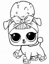 Lol Coloring Pages Dolls Pets Printables sketch template