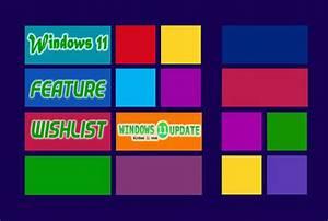Windows, 11, Concept, Features, Wishlist