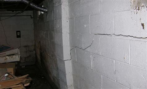 How To Straighten And Stabilize Bowing Basement Walls In