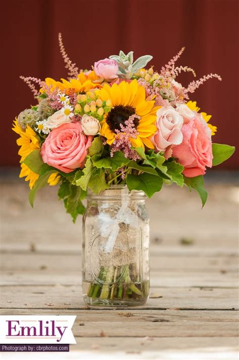 ideas  mason jar arrangements  pinterest