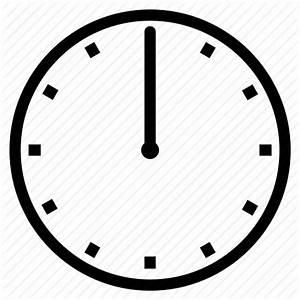 Clock, midnight, noon, twelve o' clock icon | Icon search ...