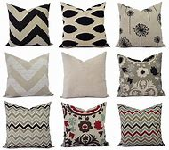 Cream Throw Pillow Covers