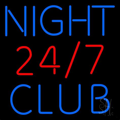 24 7 Night Club Neon Sign  Club Neon Sign  Every Thing Neon. Wood Floor Stickers. Detour Signs. Illustration Banners. American Flag Logo. Adventure Time Stickers. Tank German Decals. Picket Fence Murals. Baby Nursery Stickers