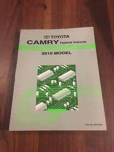 2010 Toyota Camry Hybrid Electrical Wiring Diagram Manual