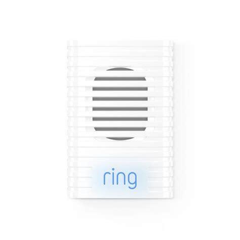 ring chime white doorbell extender  lowescom